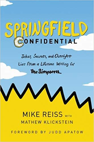 Mike Reiss – Springfield Confidential Audiobook