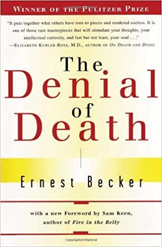 Ernest Becker – The Denial of Death Audiobook