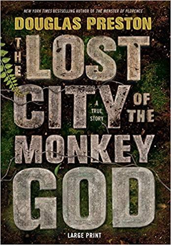 Douglas Preston – The Lost City of the Monkey God Audiobook