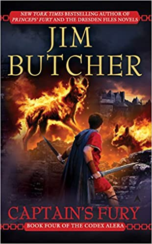 Jim Butcher – Captain's Fury Audiobook