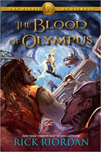 Rick Riordan – The Blood of Olympus Audiobook