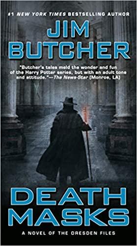 Jim Butcher – Death Masks Audiobook